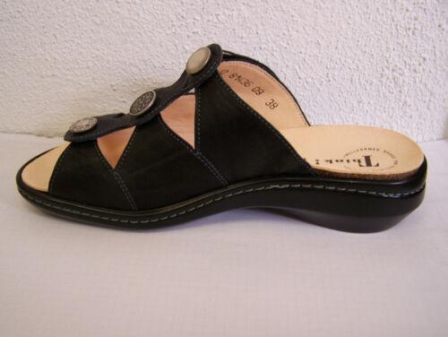 Schuh Modell camilla in schwarz  rustico mit Wechselfußbett /& Schuhbeutel Think