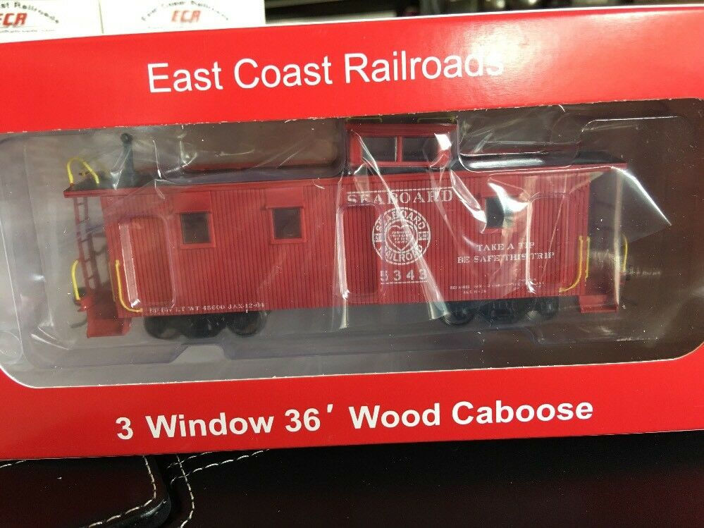 HO SCALE 1:87 SAL CABOOSE  5343 NF DIV BETTER THAN BRASS AT 1/3 OF THE COST
