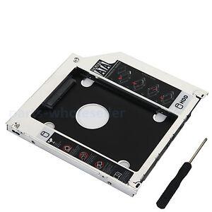2nd-Hard-disk-HDD-adattatore-caddy-per-MacBook-Pro-MB466LL-A-A1278-A1286-DVD
