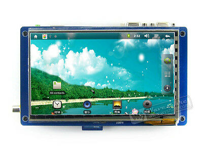 SAMSUNG S5PV210 ARM DDR2 Cortex A8 Development Board +7'' Capacitive Touch LCD