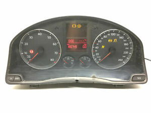 VW Golf MK5 Essence Compteur de Vitesse Instrument Cluster Kmh LHD 1K0920851G