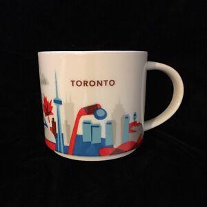 Details About Starbucks Toronto Mug Canada Coffee Cup Hockey Yah You Are Here Nib Uk Post