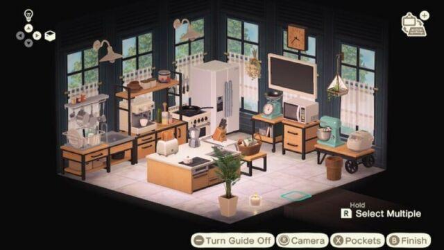Aninal Crossing New Horizons Ironwood Kitchen Furniture ... on Ironwood Kitchenette  id=69636