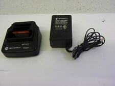 Motorola Minitor Pager V 5 Rln5703a Charger Charging Cradle W Power Supply