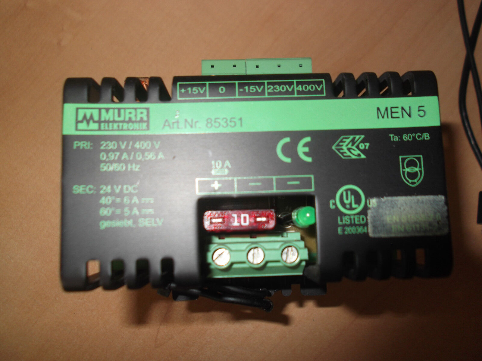 Murrelektronik Kompaktnetzgerät 85351 Netzteil | Modernes Design