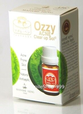 Ozzy Acne Clear Up Solution Prone Skin Natural Antiseptic Herb Stuffed Nose Cold