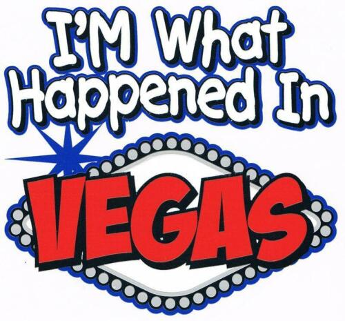 I/'M WHAT HAPPENED IN VEGAS Creeper Many Colors Newborn To 24 Months The Best