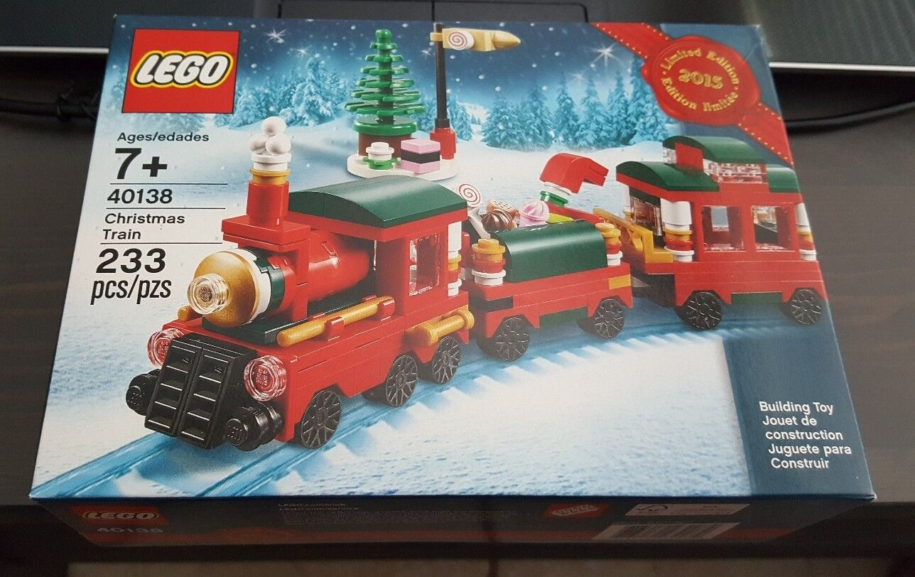 LEGO 40138 LIMITED EDITION 2015 HOLIDAY CHRISTMAS TRAIN SEALED IN BOX