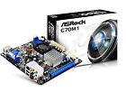 ASRock C70M1 Integrated AMD C-70 APU A50m Mini ITX Hd6290 Graphics