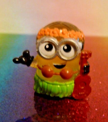 Despicable Me Mineez Series 1 #47 LUAU DAVE Mini Figure Mint Loose