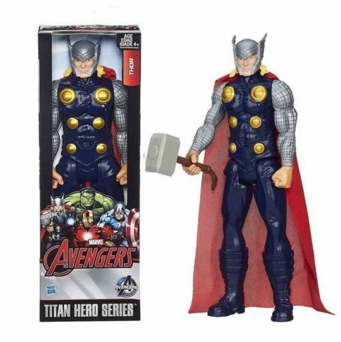 """12/"""" Marvel The Avengers Titan Hero Series Action Figure THOR Kids Collection Toy"""