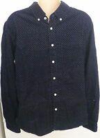 Mens Aeropostale Long Sleeve Corduroy Woven Shirt 9743