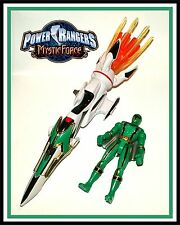 Power Rangers Mystic Force _ Green Mystic Rider / Sky Hokie with Xander Bly