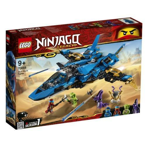 LEGO NINJAGO 70668 Legacy  Jay s Storm combatiente nuovo  disegni esclusivi