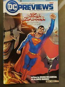 DC-Previews-14-Batman-Superman-Year-of-the-Villain-DC-Comic-1st-Print-2019-NM