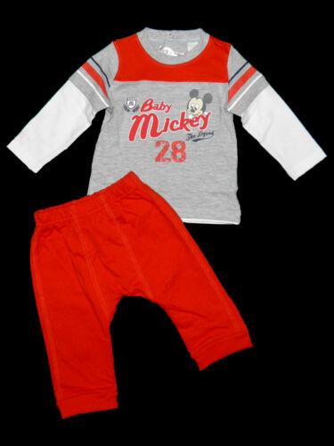 Jogginganzug Disney Cars McQueen Mickey Jogger Set Lightning 68 74 80 86 92 NEU