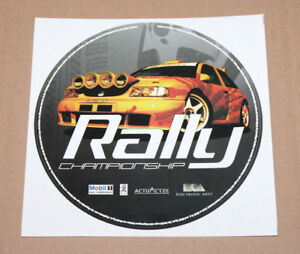 Mobil 1 Rally Championship Rare Old Round Sticker for Old Big Playstation 1 PS1 - Braunschweig, Deutschland - Mobil 1 Rally Championship Rare Old Round Sticker for Old Big Playstation 1 PS1 - Braunschweig, Deutschland