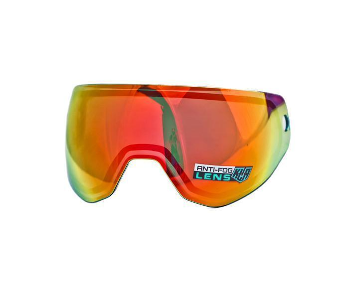 New HK Army KLR Goggles Pure HD Thermal Dual Pane Replacement Lens - Scorch Red