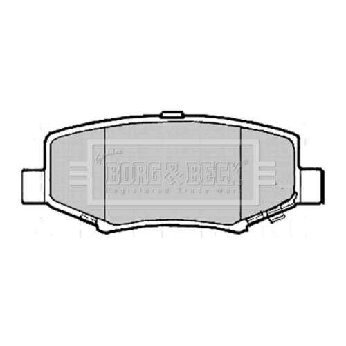 Genuine Borg /& Beck Rear Brake Pads BBP1693