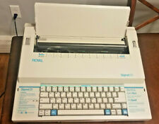 Royal Signet 25 Typewriter Great Shape Tested And Works Pro Spell Work Processor