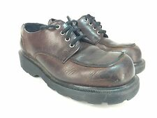 Dr Martens England Made Brown Leather Oxford Shoe Youth Kid Sz UK 1 US 2 EU 33