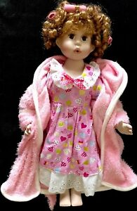 Porcelain Doll Golden Keepsakes Heirloom Collection . 18 Inches.