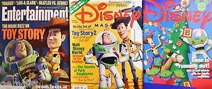 3-Disney-Toy-Story-Mags-Behind-Scenes-Pixar-Fantasia-2000-Joe-Grant-Lois-amp-Clark