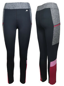 price remains stable new high quality variousstyles Details about LADIES F+F COLOUR BLOCK ZIP POCKET GYM ACTIVEWEAR SPORTS  LEGGINGS XS-XL RUNNING