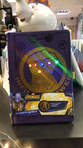 Marvel THANOS Gauntlet Notebook Premium