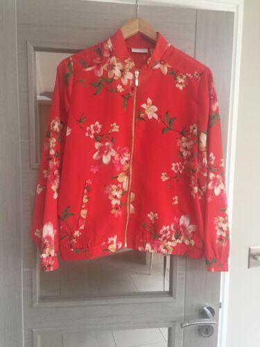 Woman Blossom Jacket Graver Bomber nbsp;cherry Susan qnPvxv