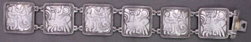 David Anderson Sterling Silver Fairytale Bracelet,