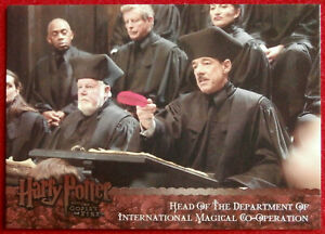 HARRY-POTTER-AND-THE-GOBLET-OF-FIRE-Card-153-BARTEMIUS-CROUCH-ARTBOX-2006