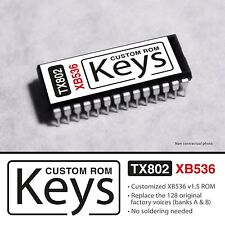 """CUSTOM XB536 ROM for YAMAHA TX802  """" Keys set """" Rhodes Clavi EP & Organ"""