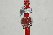 Cute Aqua Ice Diamond Heart Shape Watch  Retail $1250.00 New