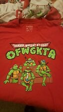 golf wang odd future Ninja turtles shirt