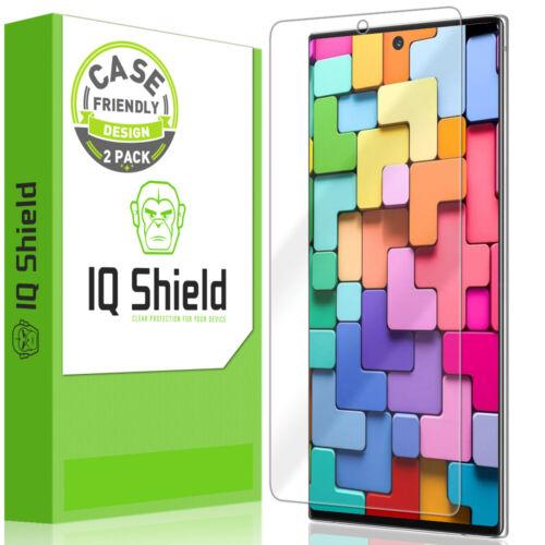 Plus Galaxy Note 2x caso amistoso IQ Shield V2 protector de pantalla para 6.8 pulgadas 10