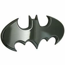 Fan Emblems Batman 3d Car Badge 1989 Batwing Logo Black Chrome