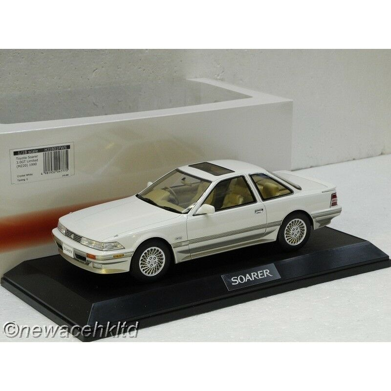 Toyota Soarer 3.0 GT Limited (MZ20) 1990 Cristal biancao Hobby Japón 1 18