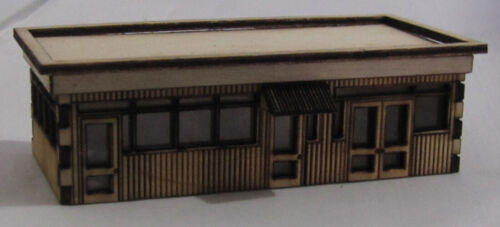 """SM040 Laser Cut /""""Tony/'s Site Office/"""" N Scale Trackside Models"""