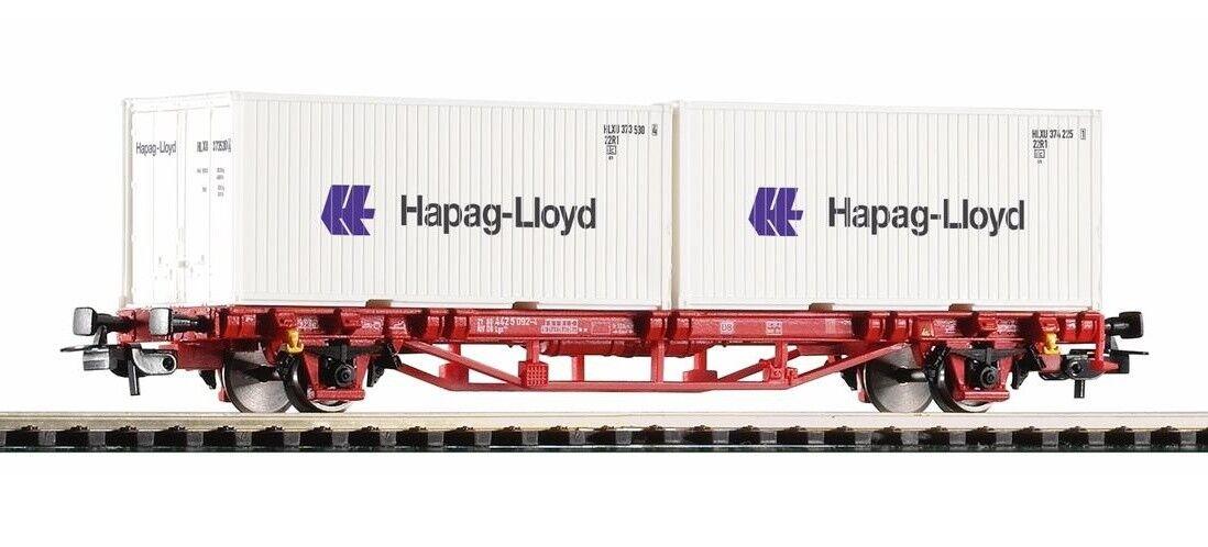 PIKO 57795 Containertragwagen  Hapag Lloyd , , , DB-AG, Ep. VI                 27818  | Am praktischsten  da76ad