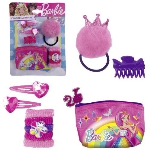 Happy People 52037 BARBIE Schmucktaschen Set Prinzessin Haarschmuck Haarbänder Puppen & Zubehör