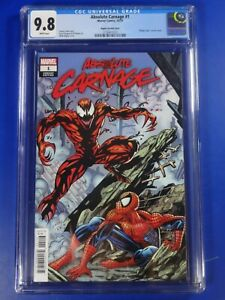 CGC-Comic-graded-9-8-NM-MT-marvel-Absolute-Carnage-1-mark-bagley-hidden-gem