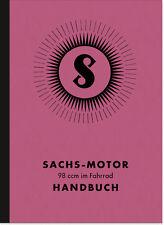 Sachs 98 ccm Nasenkolben 1936 Bedienungsanleitung Handbuch Motor Fahrrad-Motor