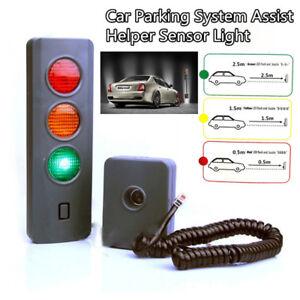 Home Garage Safe-Light Parking System Assist Distance Stop-Aid Guide Sensor Kit