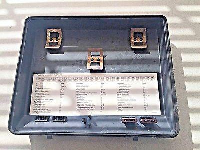 1996 mercedes s420 fuse box diagram 1987 1996 bmw 535i e34   fuse box cover   oem part ebay  1987 1996 bmw 535i e34   fuse box cover
