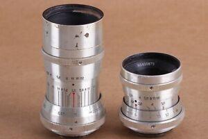 Industar-50-50-3-5-50-mm-po-51-ro-51-zwei-russische-Cinema-Movie-Objektiv-Kiev-16