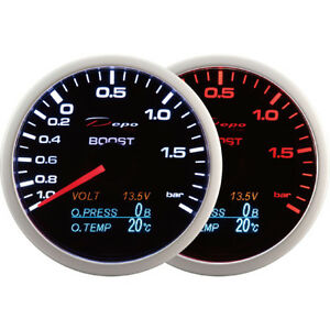 DEPO-Racing-60mm-Boost-Turbo-volt-oil-pressure-and-oil-temperature-gauge-4-in-1