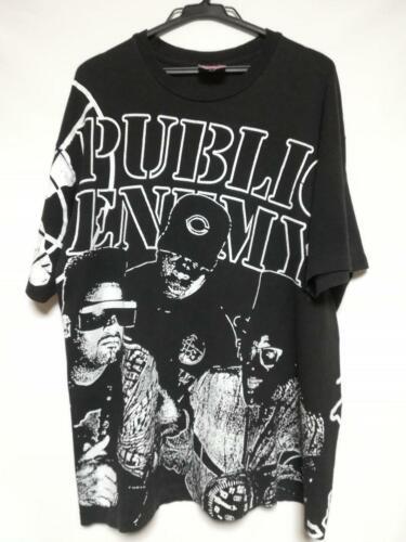 Hip Hop Ages 80-90 Sweatshirt public enemy Logo Rap Grey Melange Hooded