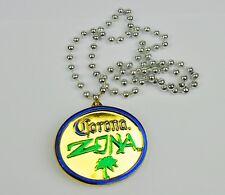 Corona Zona Bier USA Halskette Party Medaille Perlenkette Kette Partykette