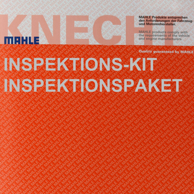 Mahle / Knecht Filtro de Combustible Pequeño 572 Aire LX 448 Ox Aceite 379D